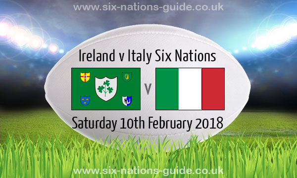 ireland 56 19 italy six nations 10 feb 2018. Black Bedroom Furniture Sets. Home Design Ideas