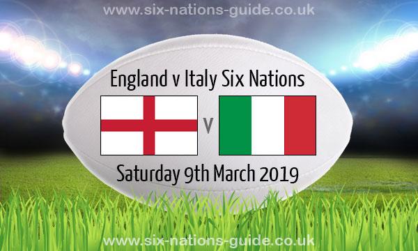 England 57 14 Italy Six Nations 9 Mar 2019