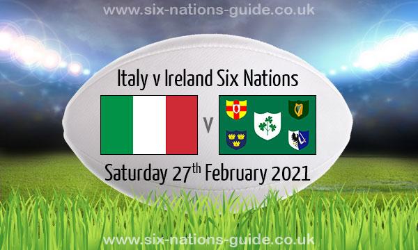 Em 2021 Italien Irland