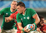 CJ Stander in action for Ireland during 2019 Rugby World Cup
