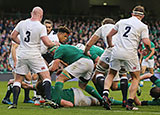 England and Ireland in action during 2017 Six Nations