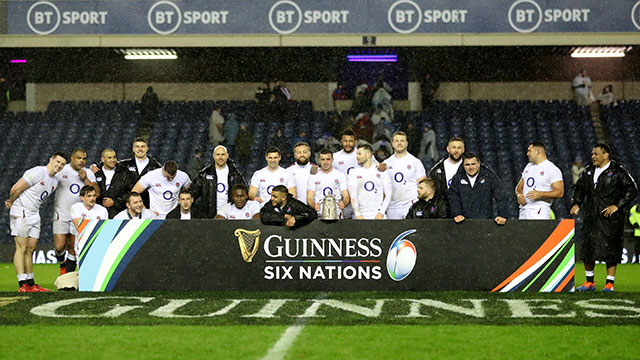 England beat Scotland 13-6 to win the Calcutta Cup in 2020 Six Nations