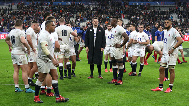 England lost to France 24-17 in Paris during 2020 Six Nations