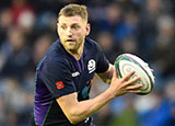 Finn Russell in action for Scotland during 2018 autumn internationals