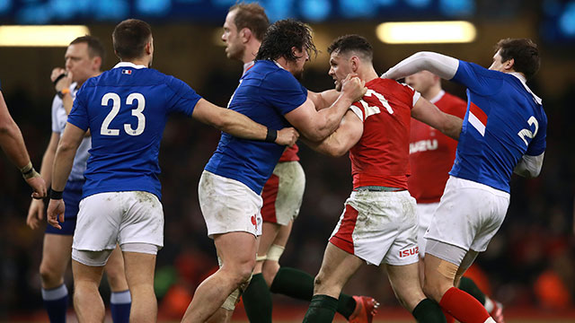 France battled past Wales 27-23 in Cardiff during 2020 Six Nations