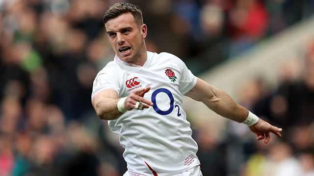 George Ford in action for England v Ireland in 2020 Six Nations