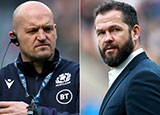 Gregor Townsend and Andy Farrell