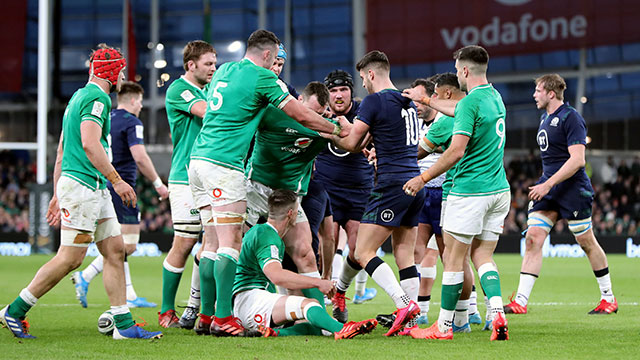 Ireland beat Scotland 19-12 in Dublin during 2020 Six Nations