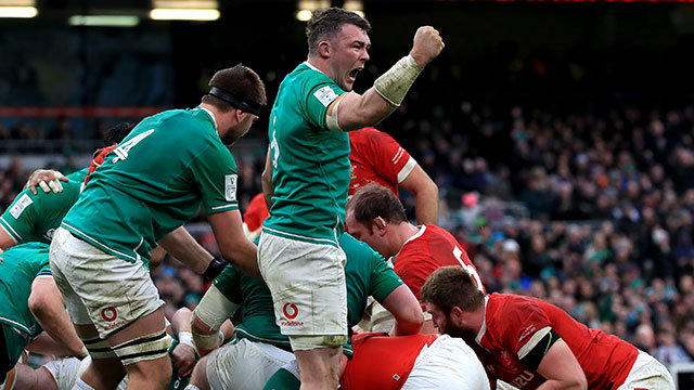 Ireland beat Wales 24-14 in Dublin during 2020 Six Nations