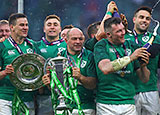 Ireland celebrate Grand Slam victory at Twickenham