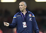 Italy head coach Conor O'Shea