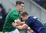 Johnny Sexton in action for Ireland v Scotland in 2019 Six Nations
