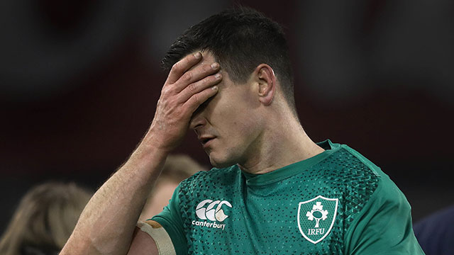 Johnny Sexton after the Ireland v England match in 2019 Six Nations
