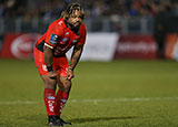 Mathieu Bastareaud playing for Toulon