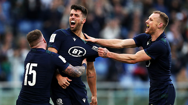 Scotland beat Italy 17-0 in Rome during 2020 Six Nations