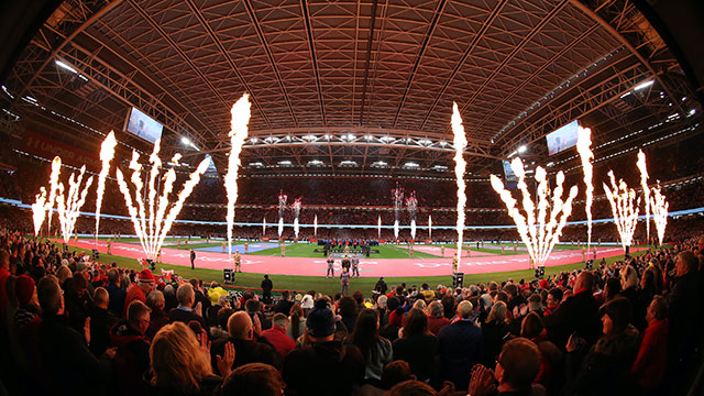 Wales and Italy kicked off the 2020 Six Nations at the Principality Stadium in Cardiff